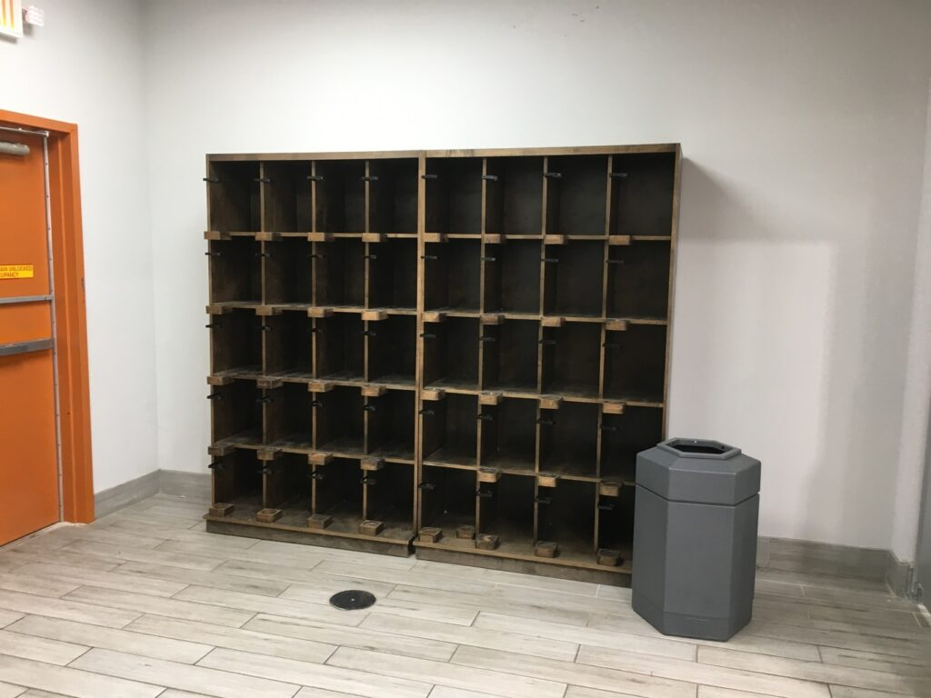Millwork - Empty Custom Wine Shelving
